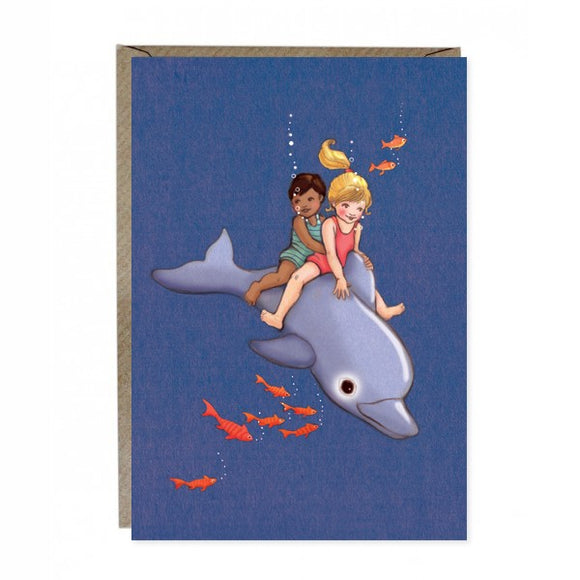 Dolphin Adventure Card