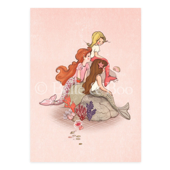 Mermaid Rock Postcard