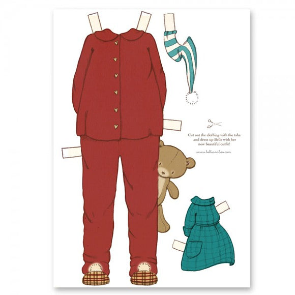 Large Dress Up Belle Outfit - Winter Sleepware