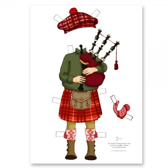 Large Dress Up Belle Outfit - Burns Night
