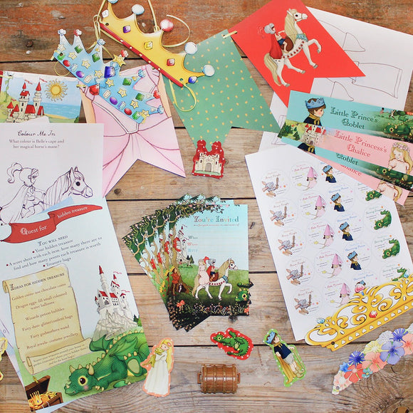 Fairytale Party Download Kit
