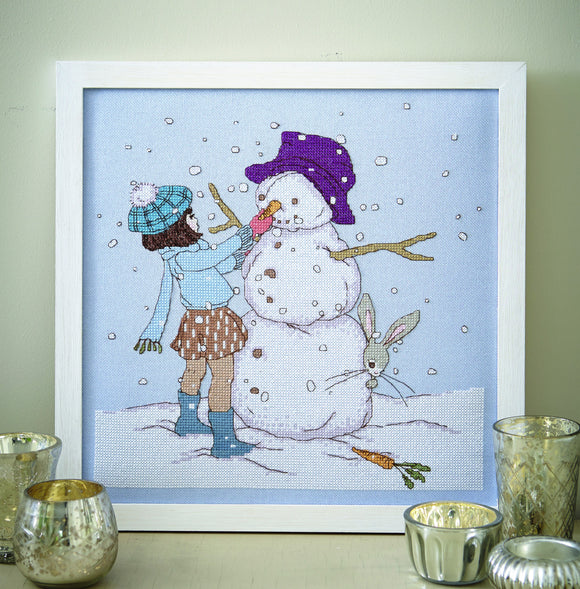 Snowman Cross Stitch Pattern