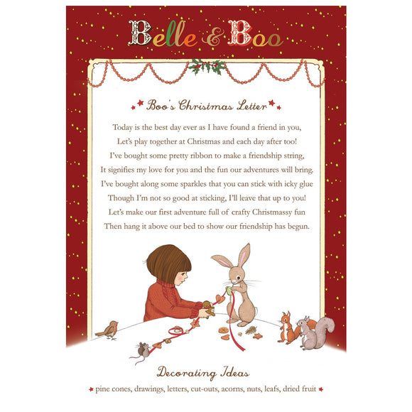 Boo's Christmas Letter Download
