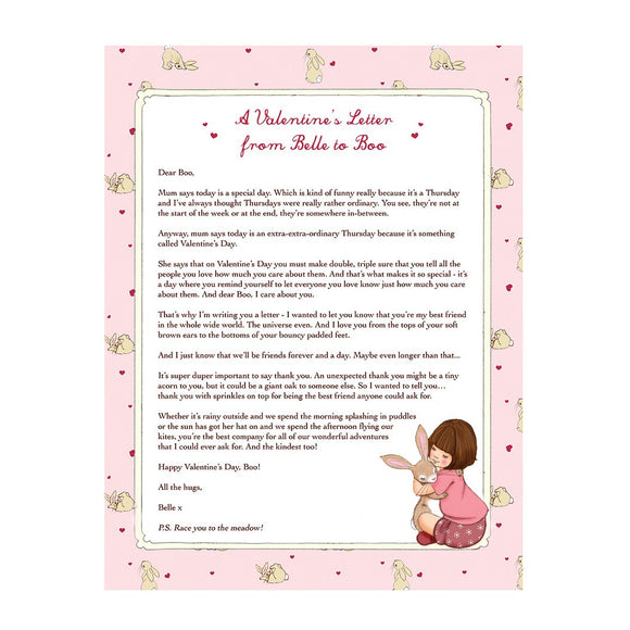Belle's Valentine's Day Letter Download