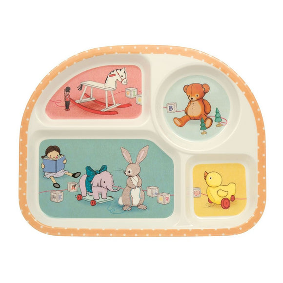 Toy Box Section Dinner Tray