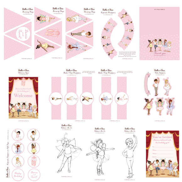 Ballet Party Download Kit