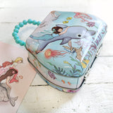 Mermaid Hand Bag Tin