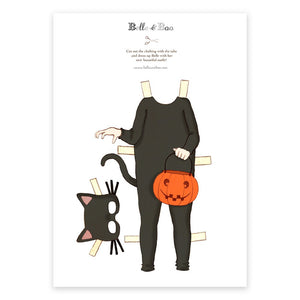 A4 Dress Up Belle Cat Halloween Outfit