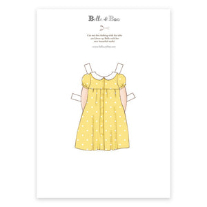 A4 Dress Up Belle Sundress Outfit