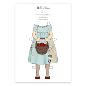 A4 Dress Up Belle Tree Hugger Dress Outfit