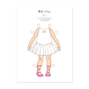A4 Dress Up Ava Ballerina Outfit