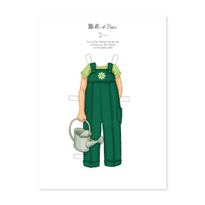 A4 Dress Up Ava Dungarees Outfit