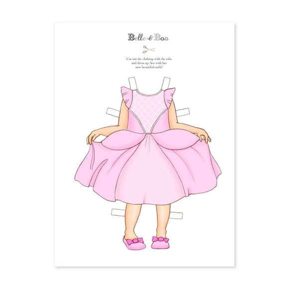 A4 Dress Up Ava Princess Outfit