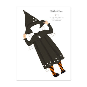 A4 Dress Up Ava Witch Outfit