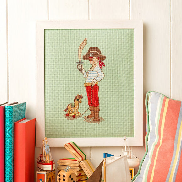 Little Pirate Cross Stitch Pattern (PDF)