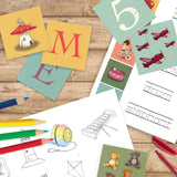 Letters & Numbers Activity Download