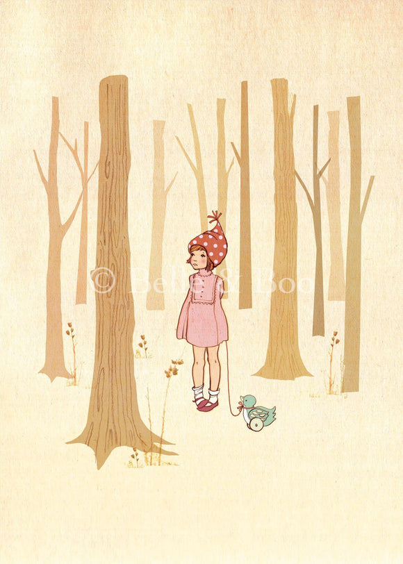 Walk In The Woods (Mini Print)