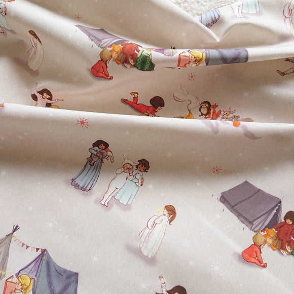 Bedtime Stories Fabric FQ (50cm x 73cm)