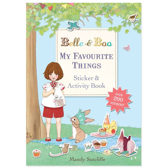 My Favourite Things Sticker Book