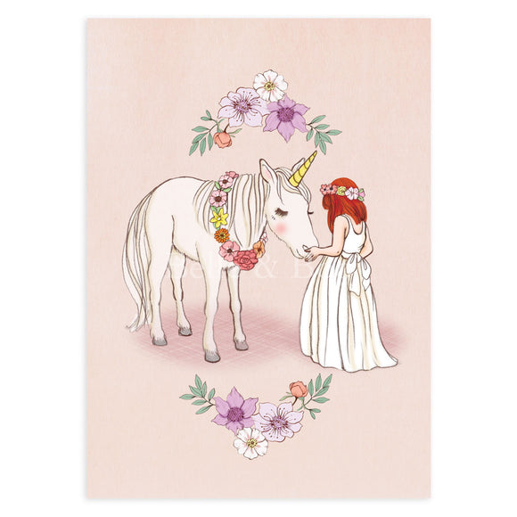 Hello Unicorn Postcard