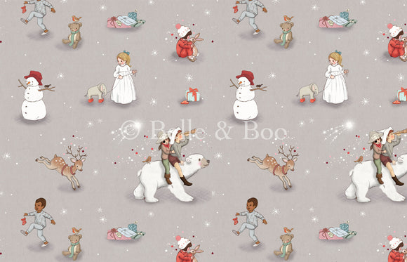 Polar Bear Adventure Fabric