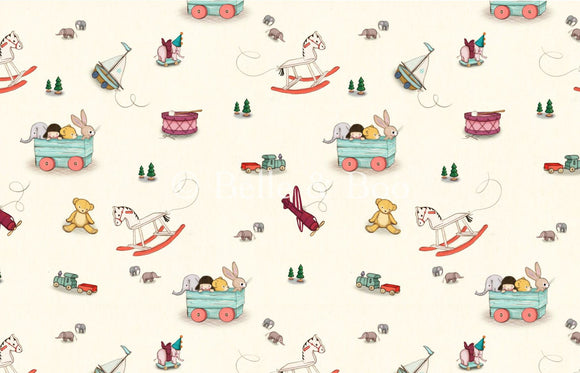 Toy Box Fabric