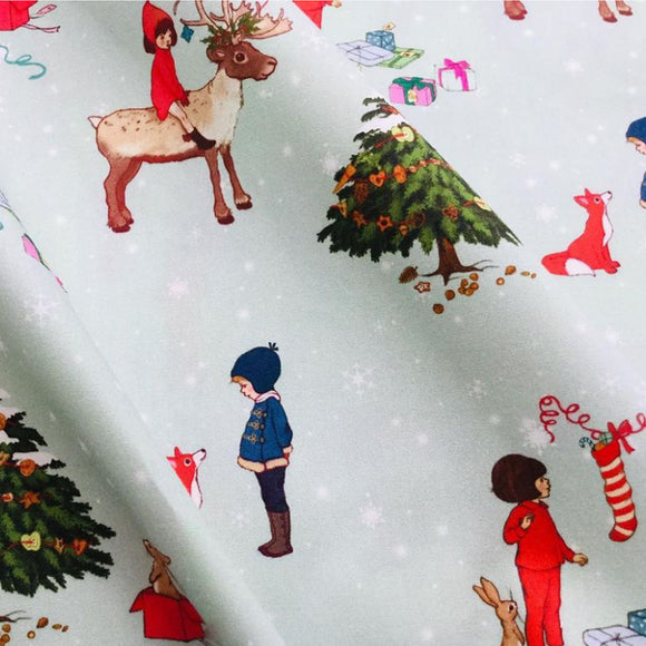 Winter Wonderland Fabric FQ (50cm x 73cm)