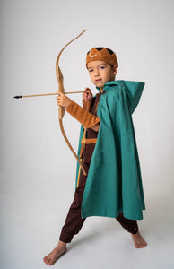 Forest Warrior, Archer, Knight, Kids Costume