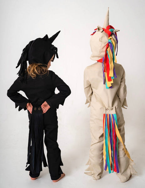 Unicorn Hood for Kids Unicorn Costume - Rainbow and White