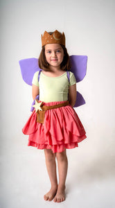 Coral Fairy Skirt for Fairy Costume