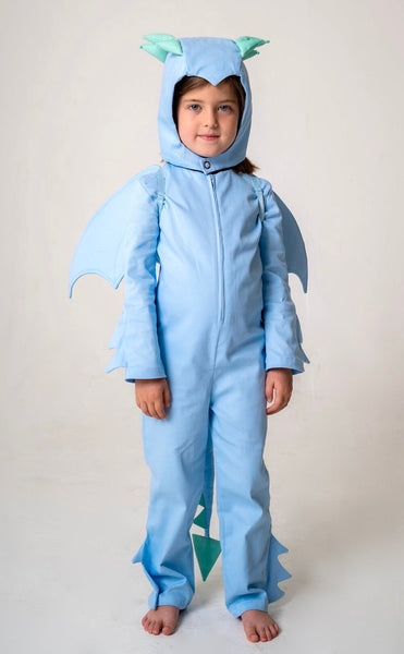 Dragon Wings for Kids Dragon Costume - Ice Blue