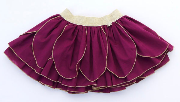 Dark Purple Fairy Skirt for Fairy Costume
