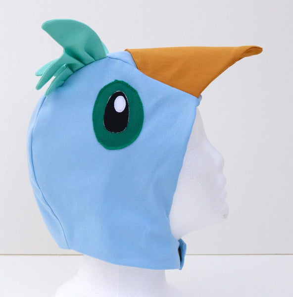 Bird Hood for Kids Bird Costume - Bluebird