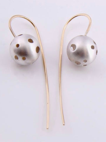 Dalmatian earrings