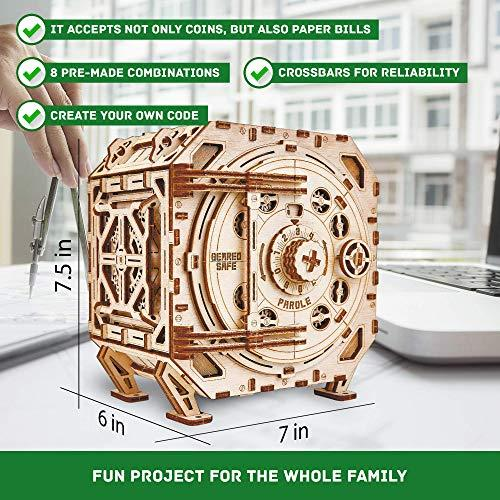 Wood Trick Geared Safe Model Kit - 3D Wooden Puzzle ...