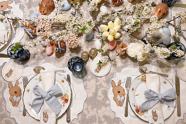 Joyful Easter Tablescapes