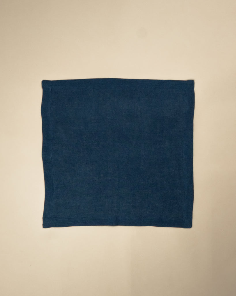 Plain dark blue Napkin