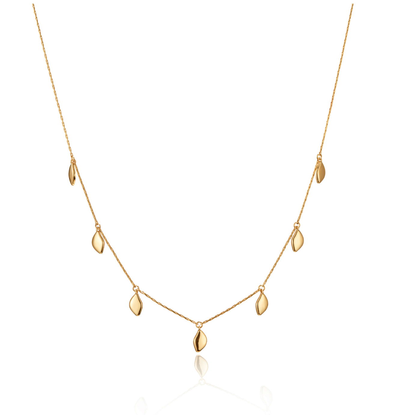 Foli Necklace (Gold, Silver)