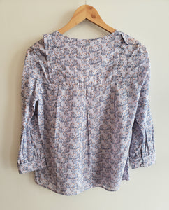 Printed Light Cotton Blouse