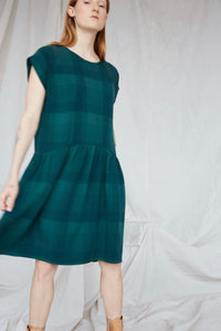 Yuma Dress in Emerald Green
