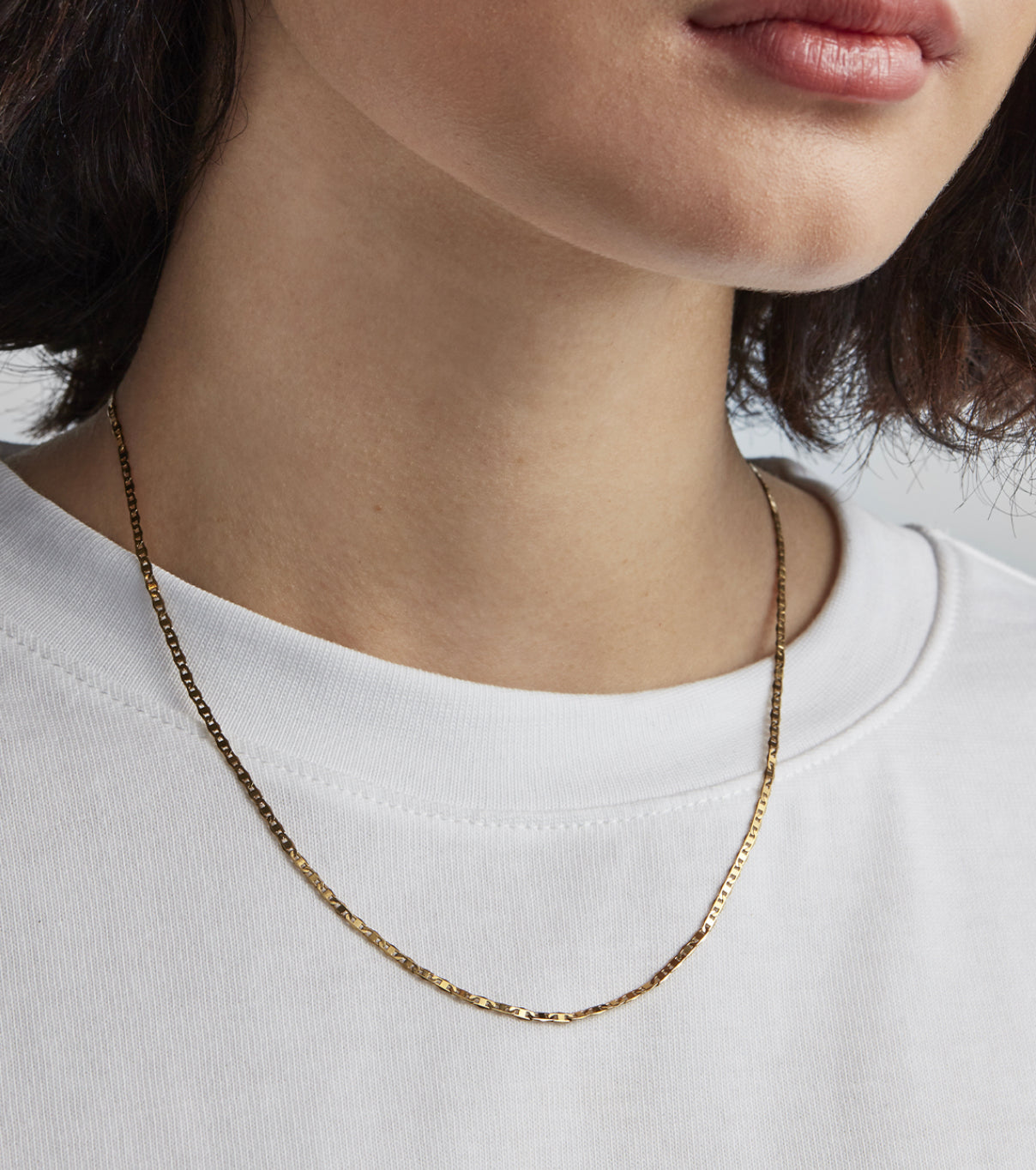 Elli Mariner Chain in Gold