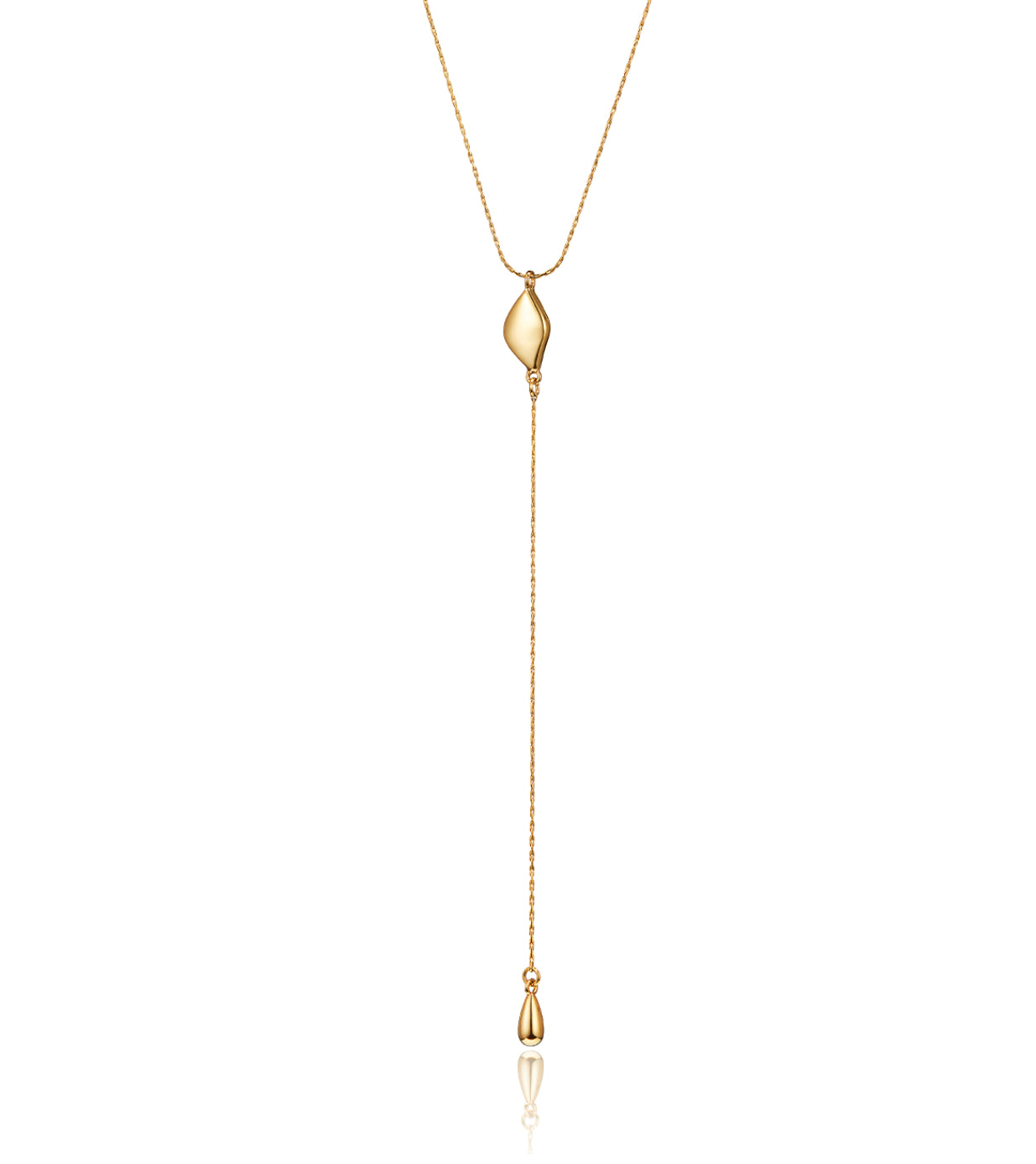 Constance Lariat in Gold