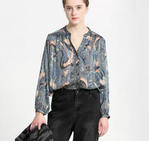 Flora Long Sleeve Blouse