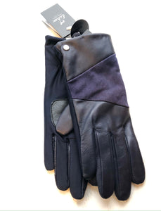 Leather/Suede Block Superfit Gloves (2 Colours)