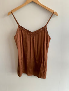 Lace Cami in 'Rustic Gold'