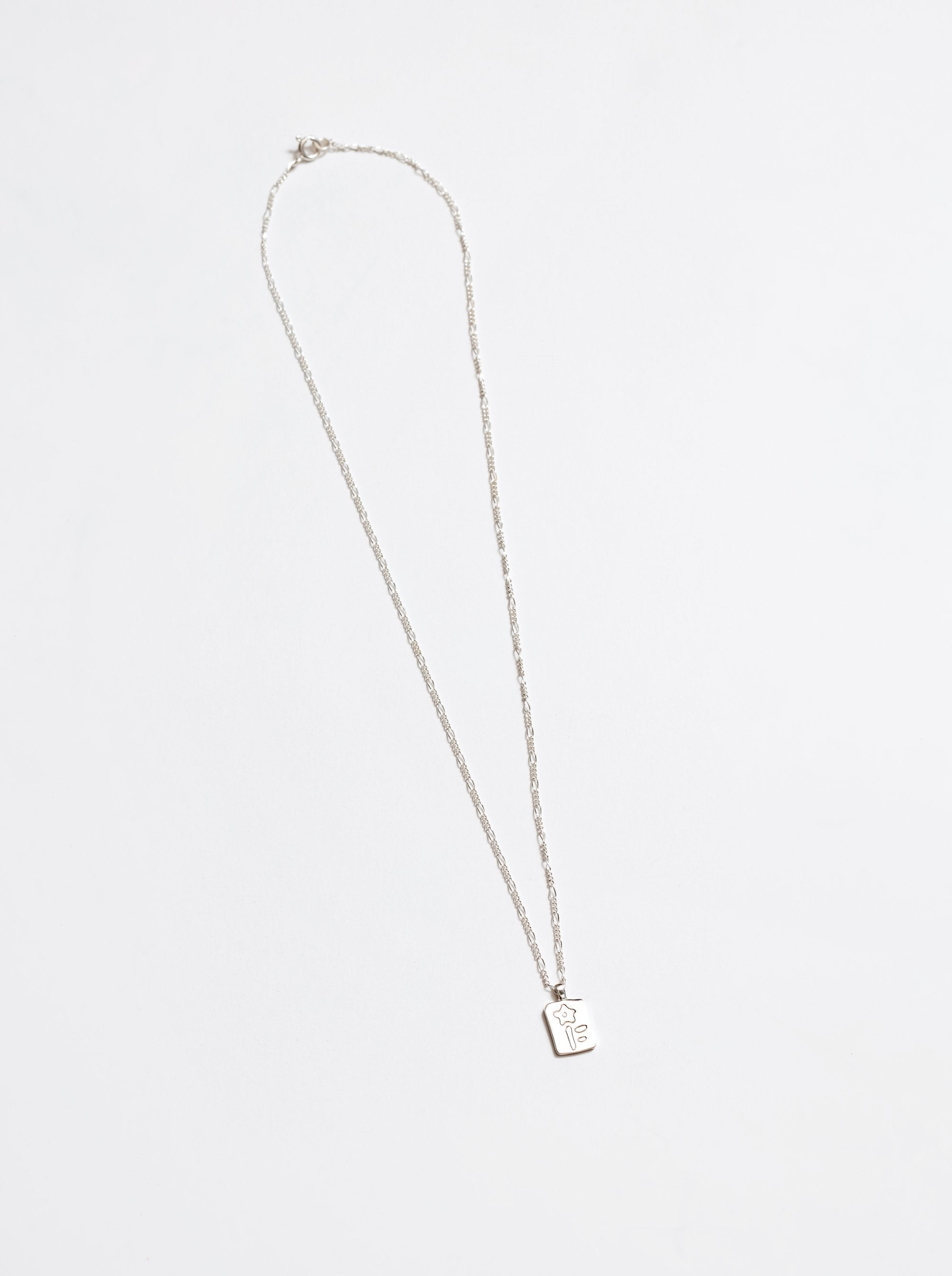 Meadow Necklace in Silver