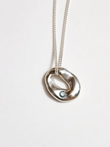 Ophelia Necklace in Silver