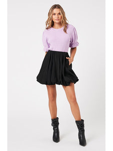 Molly Knit Top in Lilac