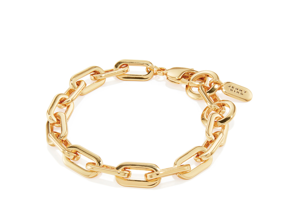 Toni Small Link Bracelet in Gold