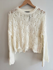 Wynn Crochet Sweater